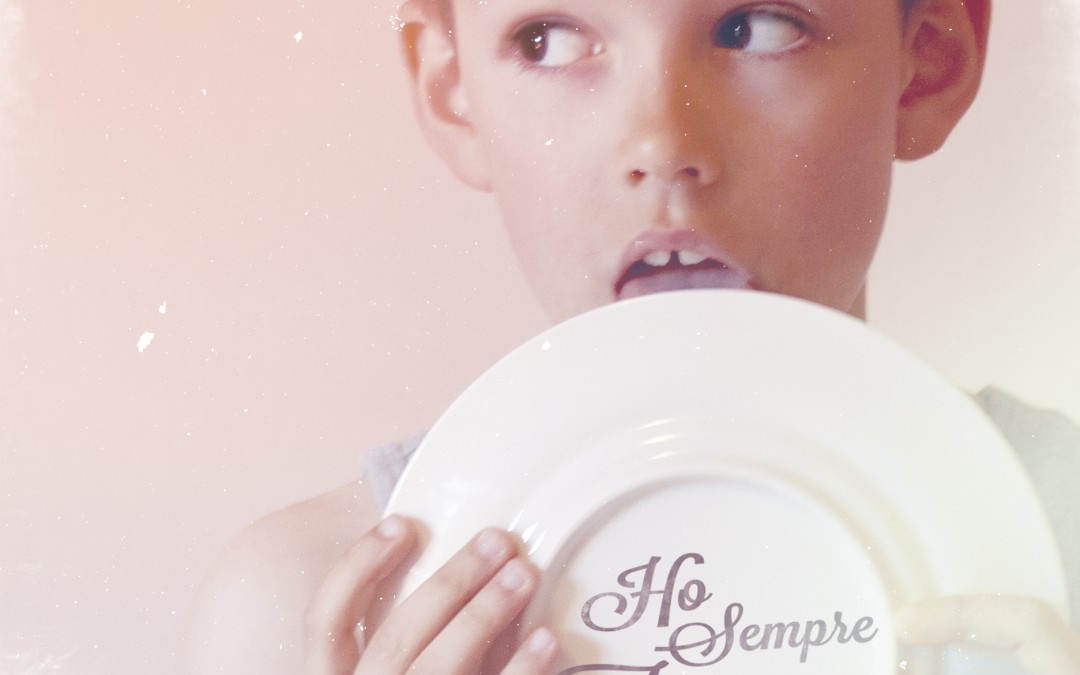 "NEW WORK – iTunes Cover ""Ho Sempre Fame"""