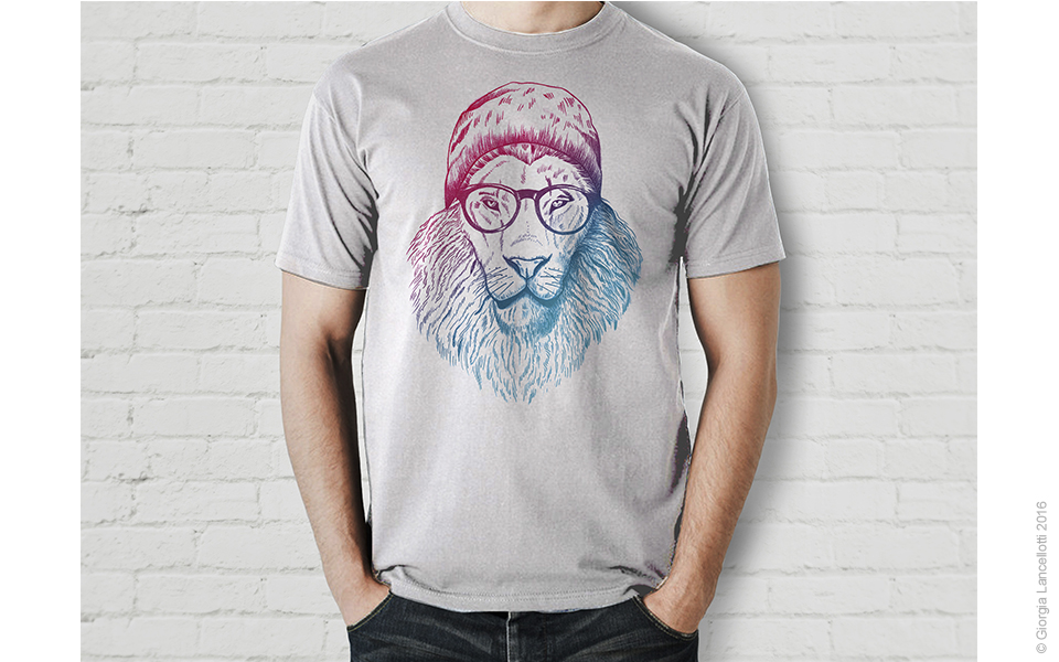 Gallery_960x600 Hipster Lion Drawing 2