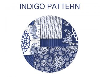 Pattern Allover Indigo