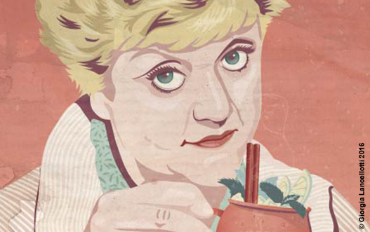 NEW WORK – JESSICA FLETCHER ON MY MIND