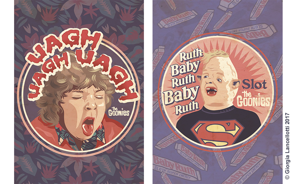 The Goonies Illustrations Giorgia Lancellotti_5