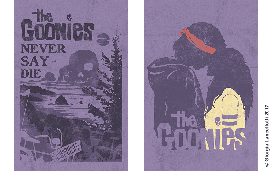 The Goonies Illustrations Giorgia Lancellotti_6