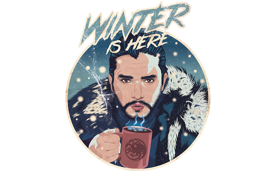 Game of Thrones Winter is here