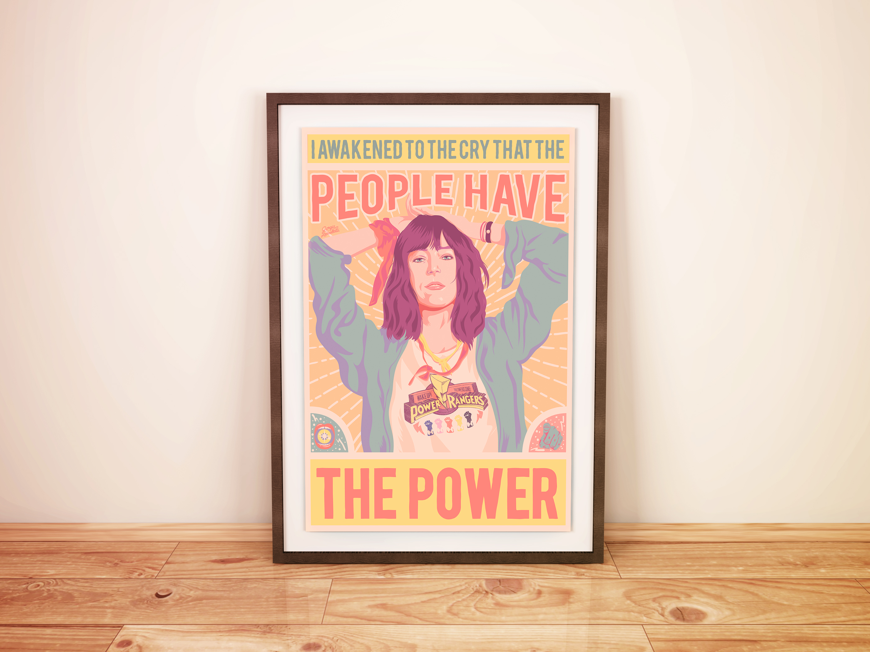 WAKE UP! Patti POSTER