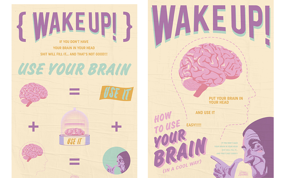 WAKE UP! Use Your Brain 3