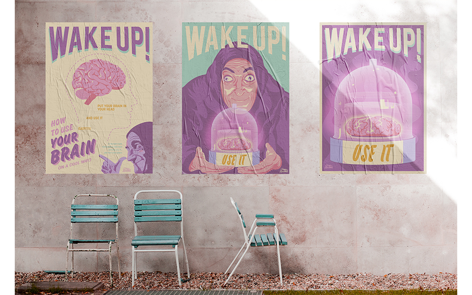 WAKE UP! Use Your Brain 4